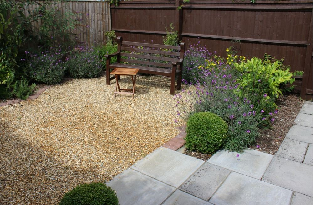 Gravel and Paver Patio