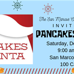 2019 CFAAA Pancakes with Santa