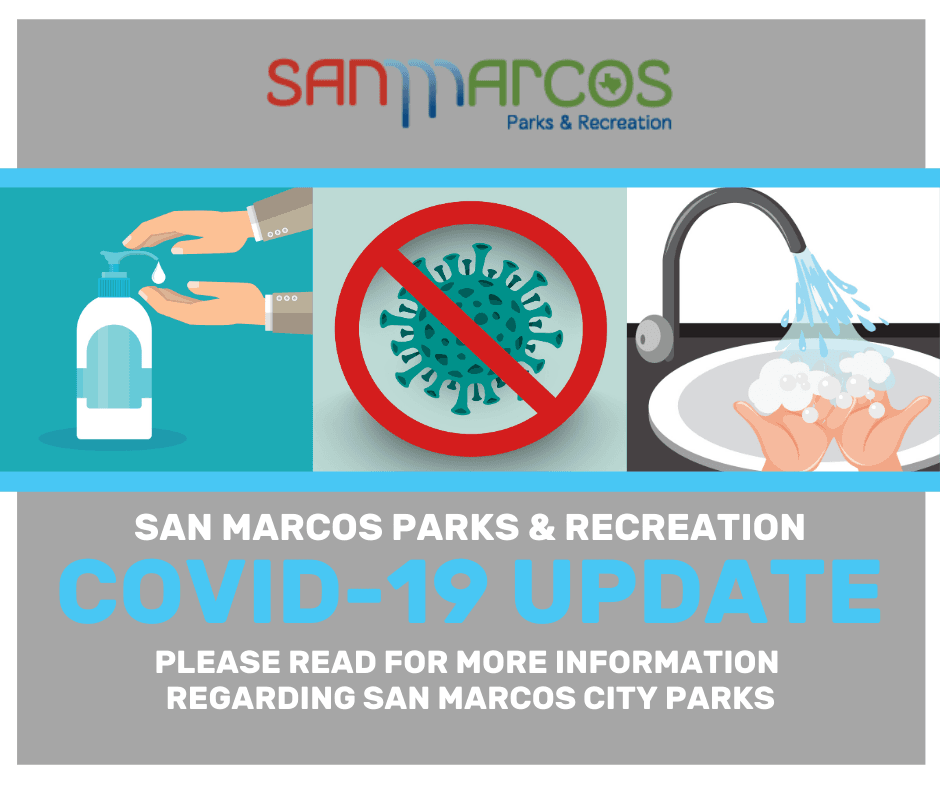 COVID-19 UPDATE GRAPHIC CITY PARKS