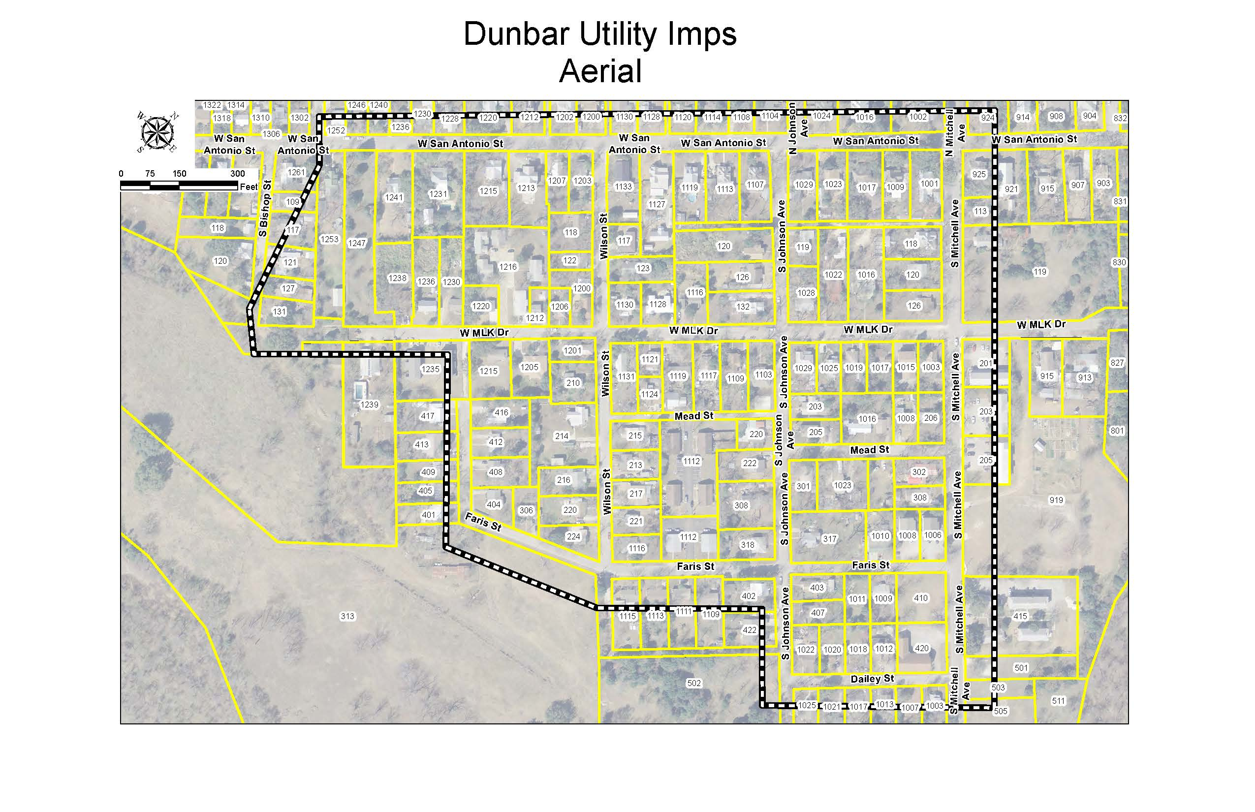Dunbar Imp Location Map
