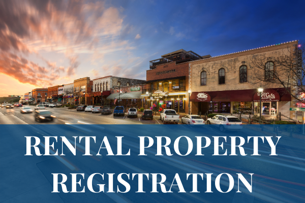Rental Property Registration