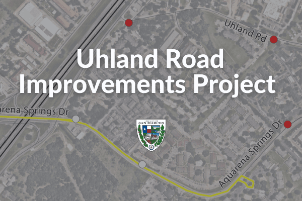 Uhland Rd Improvements