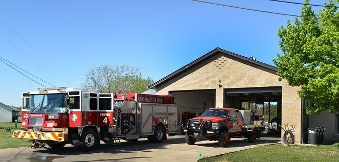 Fire Station 4 and Trucks