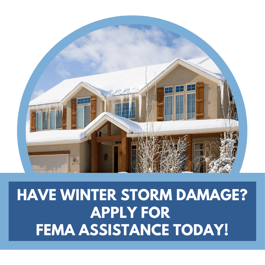 Click here to apply for FEMA assistance today!
