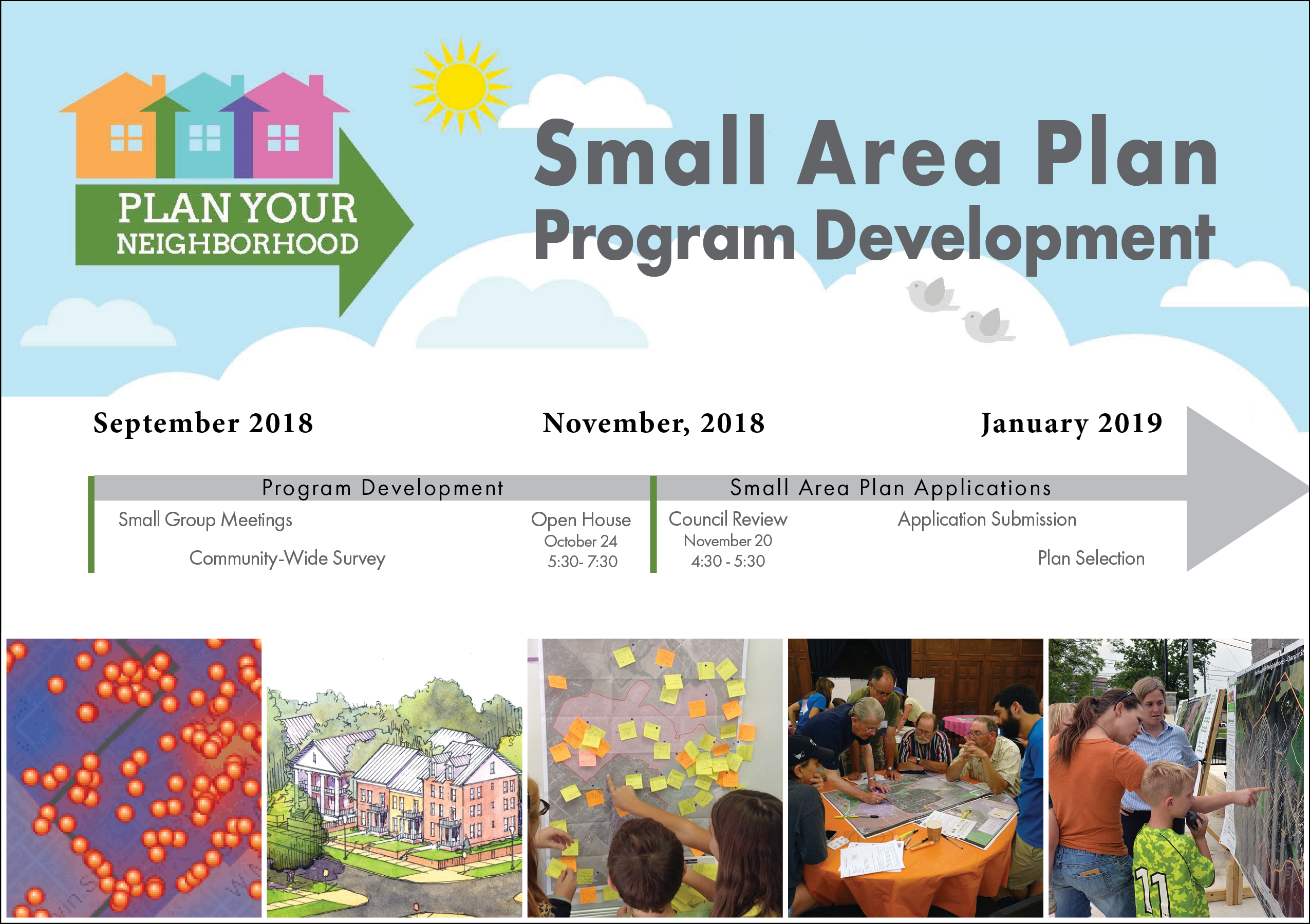 Small Area Plan Program Development