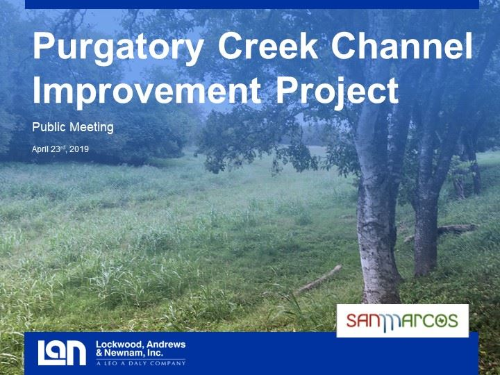 Purgatory Creek Channel Improvement Project