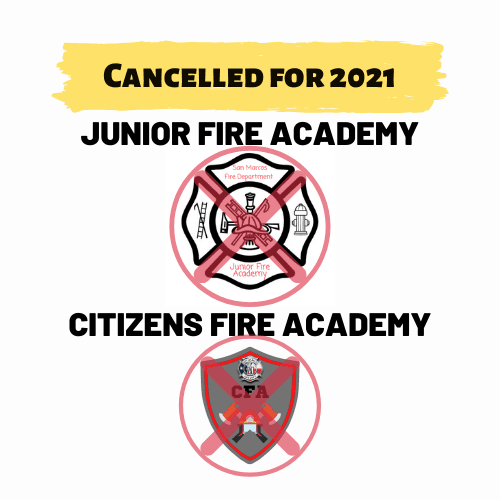 2021 Cancelled SMFD JFA CFA