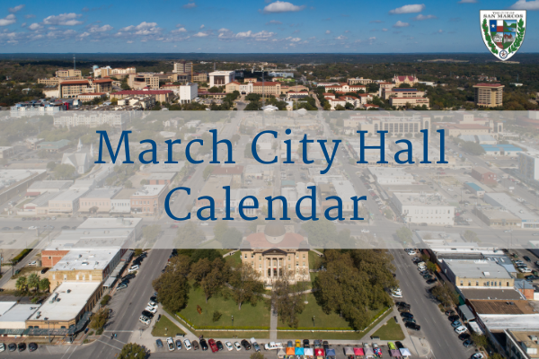 March City Hall Calendar