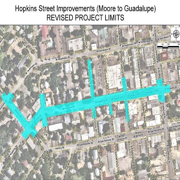 Hopkins Improvements - Moore to Guadalupe