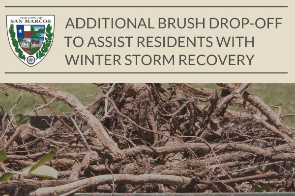 Additional Brush Drop-Off