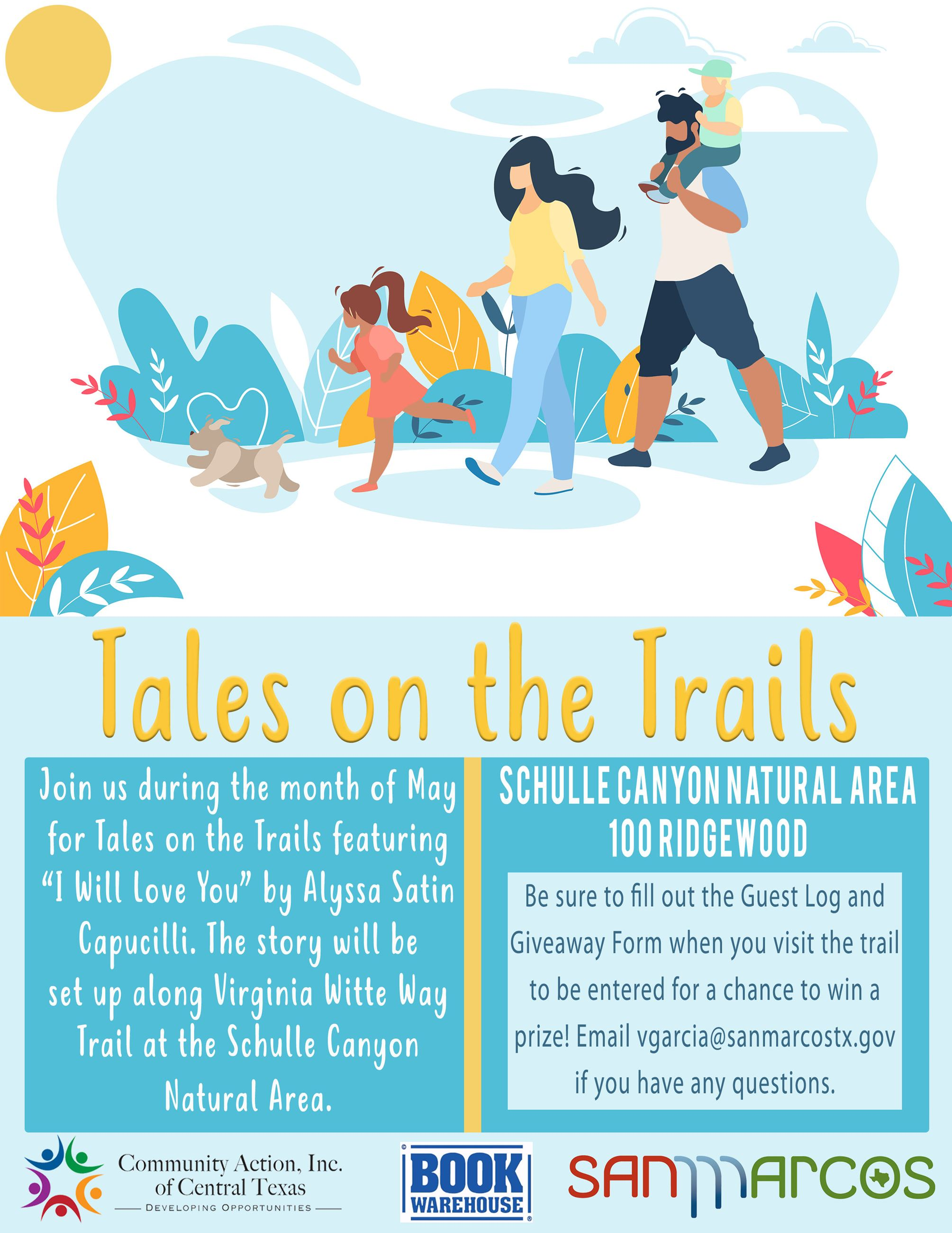 Tales on the Trails - May