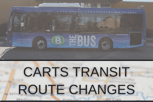 CARTS route changes